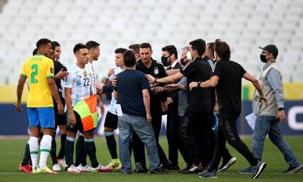 Il covid batte Brasile e Argentina: gara sospesa dalla 'vigilanza sanitaria'