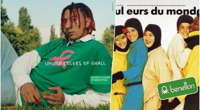 Benetton lancia il burqa firmato dal rapper tunisino Ghali: vogliono velare le vostre figlie