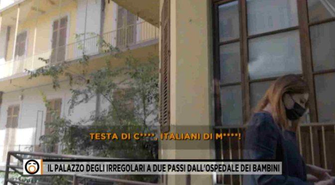 """Migranti abusivi ci cacciano da casa nostra: """"Italiani di merda"""" – VIDEO"""