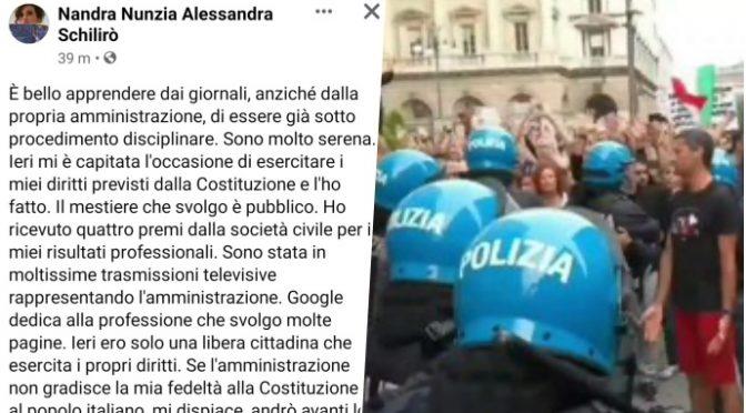 """No Green pass, vicequestore Roma risponde a Lamorgese: """"Ho giurato sulla Costituzione"""""""