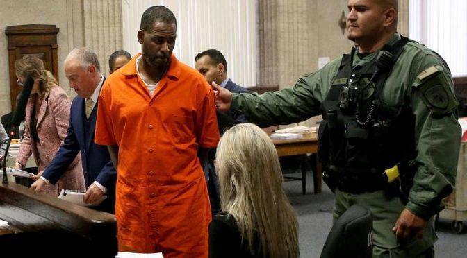 R. Kelly condannato per abusi e sfruttamento sessuale un'altra 'star' nera