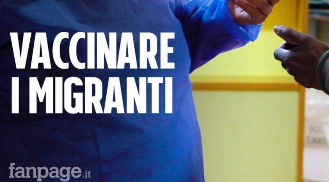 Muore un piccolo immigrato dopo il vaccino 😷 : migranti in piazza