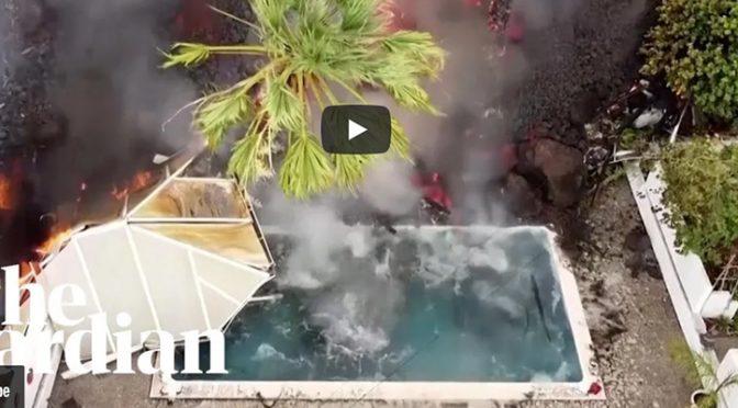 Il vulcano si riprende le Canarie dalla speculazione edilizia