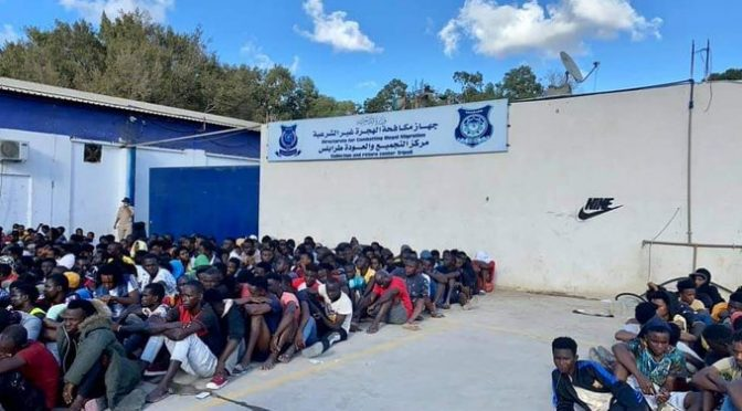 Libia, maxi operazione: quattromila clandestini arrestati in raid 😍