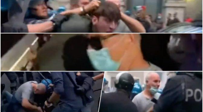 Meloni dura su Lamorgese: ha orchestrato violenze di piazza, strategia tensione