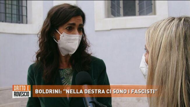 Boldrini vede fascisti ovunque – VIDEO