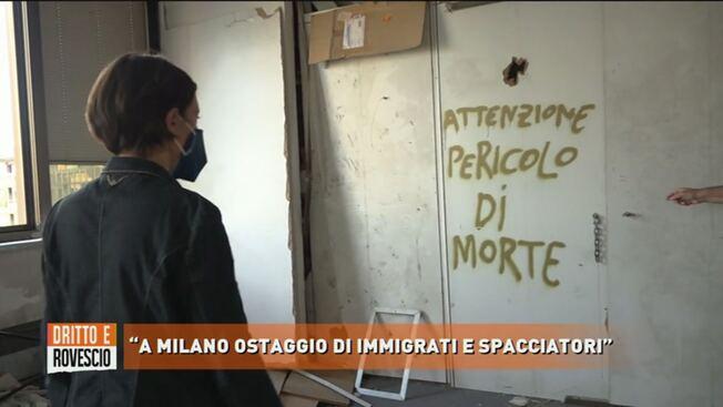 """A Milano italiani ostaggio di immigrati spacciatori: """"Chi entra muore"""" – VIDEO"""