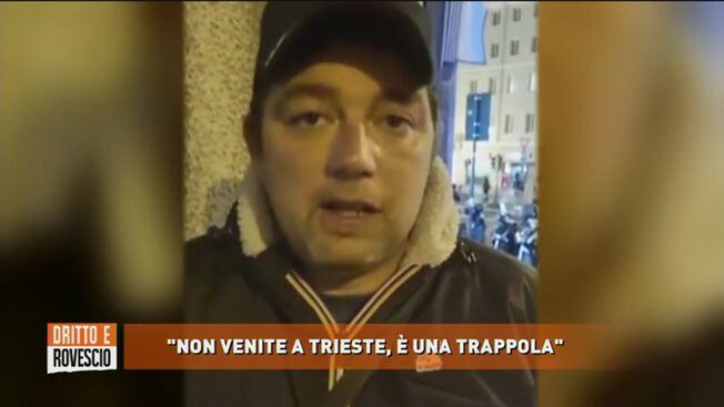 Trieste, Puzzer ammette inutilità incontro con Patuanelli – VIDEO