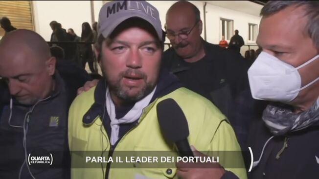 Trieste, minacce al leader della protesta: così il regime vuole soffocare la rivolta – VIDEO