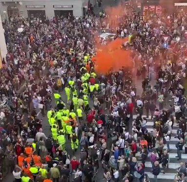 Trieste, protesta oceanica contro il governo: questi sono davvero 30mila – VIDEO