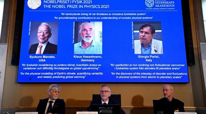 Nobel per la Fisica al maschio italiano Parisi – VIDEO 🤭